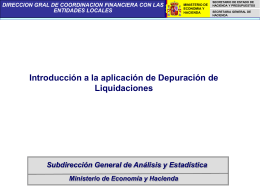 Aplicacion de Depuracion para las Delegaciones