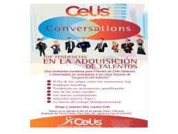 Presentación - Blog Corporativo | Celis