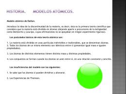 MODELO ATOMICO DE BOHR PPT