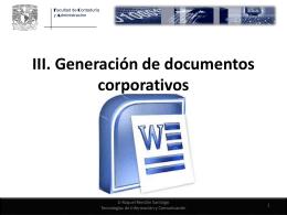 Ctrl + A - Docencia FCA-UNAM