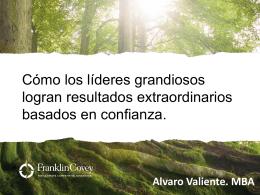 Álvaro Valiente- Franklin Covey