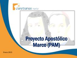 Proyecto Apostolico Marco