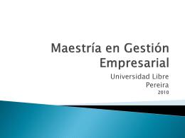 modulo comercial 28 ene 2010 - Universidad Libre Seccional Pereira