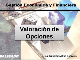 Clase 19 Teoría de Opciones Financieras