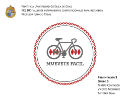 Muevete Facil - Pontificia Universidad Católica de Chile