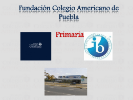 Colegio de Americano de Puebla - GENESIS