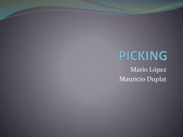 Picking