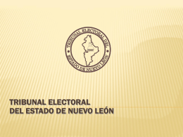 4. Magdo Javier Garza TEENL - Tribunal Electoral del Estado