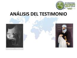 Psicología del Testimonio - Entrevista e Interrogatorio