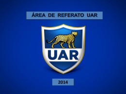 2014 Criterios UAR