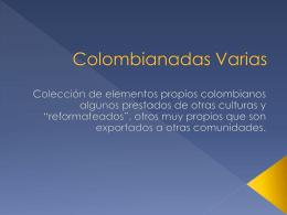 Colombianadas Varias