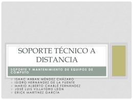 Introducción al Soporte Técnico a Distancia