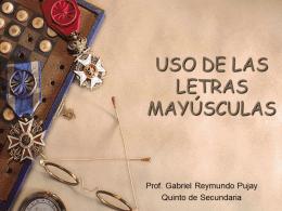 mayyusculas