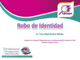 robo_identidad2014 - Instituto de Acceso a la Información