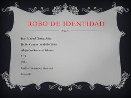 ROBO DE IDENTIDAD (2084515)