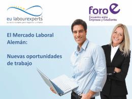 Foro Empleo - eu labourexperts