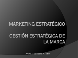 Gestión Estratégica de la Marca - Marketing-Estrategico-UCC