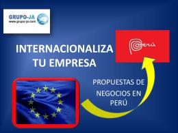 INTERNACIONALIZA TU EMPRESA - Grupo-Ja