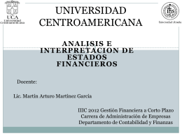 analisis e interpretacion de estados financiero unilate gfcp