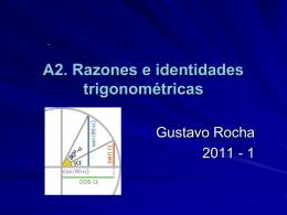 A.2 Razones e identidades trigonométricas