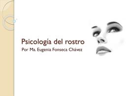 Psicología del rostro - Ma. Eugenia Fonschav