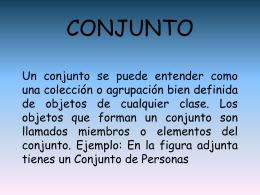 CONJUNTOS - matematicas para tod@s