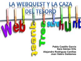 Webquest y caza del tesoro - DCADEP-UA