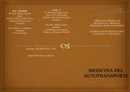Medicina del Transporte Terrestre (Modalidad Autotransporte)