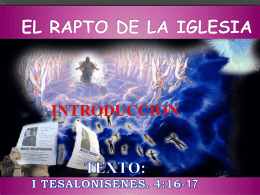 1,5 MB - Iglesia Bautista Jesús es el camino