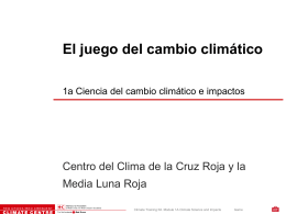 (cambio climático)…