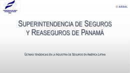 Superintendencia de Seguros y Reaseguros de Panamá
