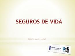SEGURO DE VIDA - Documento sin título
