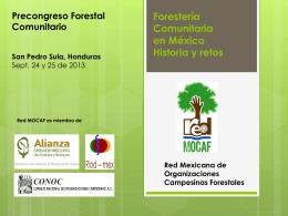 Forestería Comunitaria en México Historia y retos Red Mexicana de