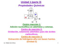 Unidad 1 - Departamento de Química Orgánica