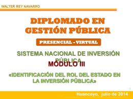 Presentación de PowerPoint - Universidad Nacional de Huancavelica
