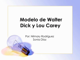 Walter Dick y Lou Carey