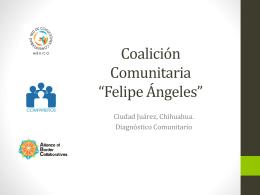 Coalición Felipe Ángeles - Red de Coaliciones Comunitarias