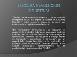 TERCERA REVOLUCION INDUSTRIAL (1) - FHS-FCE-002