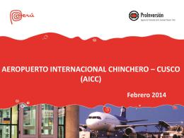 Aeropuerto Internacional de Chinchero – Cusco (AICC)