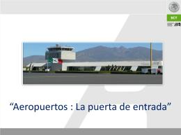 Aeropuerto - Foro Nacional de Turismo