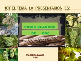 presentacion Blancos Eva