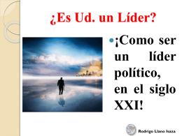 ¿Es Ud. un Líder? - Partido Liberal Colombiano