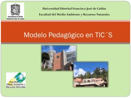 Modelo Pedagógico en TIC´S
