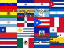 paises que hablan castellano.