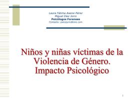 La prueba de la violencia psicológica en las situaciones de malos