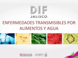 enfermedades transmisibles por alimentos y agua