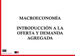 Clase 6 oferta y demanda agregada macro
