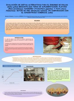 Pollos - INSTITUCION EDUCATIVA PROMOCION SOCIAL