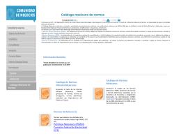 catalogo_mexicano_de_normas