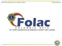 Diapositiva 1 - Asociación de Clubes de Leones Distrito F.4.